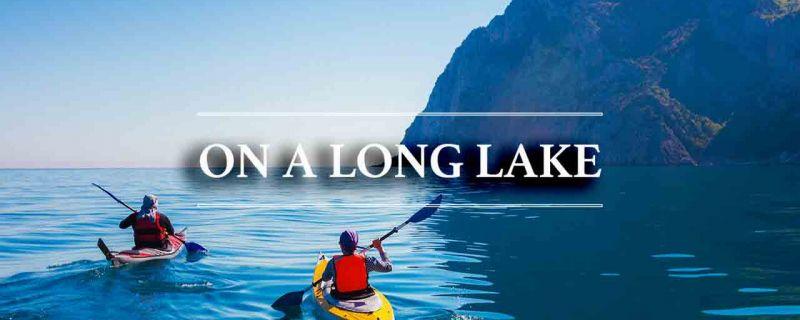 Bracciano: on a long lake