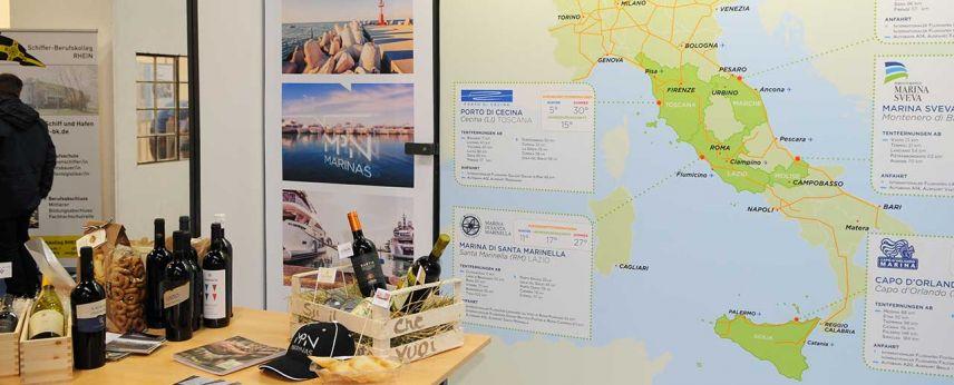 Navigare il Mar Tirreno con la Rete MPN Marinas